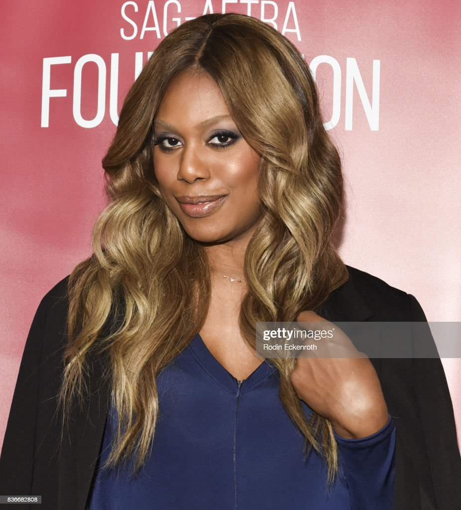Actress Laverne Cox poses for portrait at SAG-AFTRA Foundation Conversations with 'Orange Is The New Black' at SAG-AFTRA Foundation Screening Room on August 21, 2017 in Los Angeles, California.