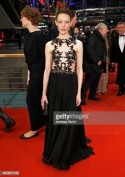 Actress Lavinia Wilson attends the 'Nobody Wants the Night' Opening Night premiere during the 65th Berlinale International Film Festival at Berlinale...