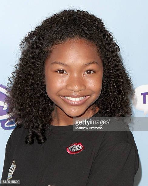 Actress Laya DeLeon Hayes attends the premiere of Disney Channel's 'The Swap' at ArcLight Hollywood on October 5 2016 in Hollywood California