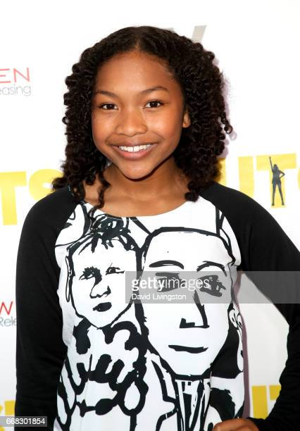 Actress Laya DeLeon Hayes attends the premiereof Swen Group's 'The Outcasts' at Landmark Regent on April 13 2017 in Los Angeles California