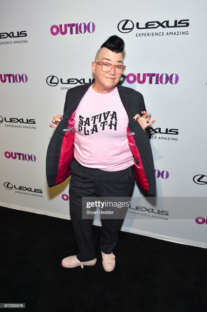 Actress Lea DeLaria attends OUT Magazine #OUT100 Event presented by Lexus at the the Altman Building on November 9, 2017 in New York City.