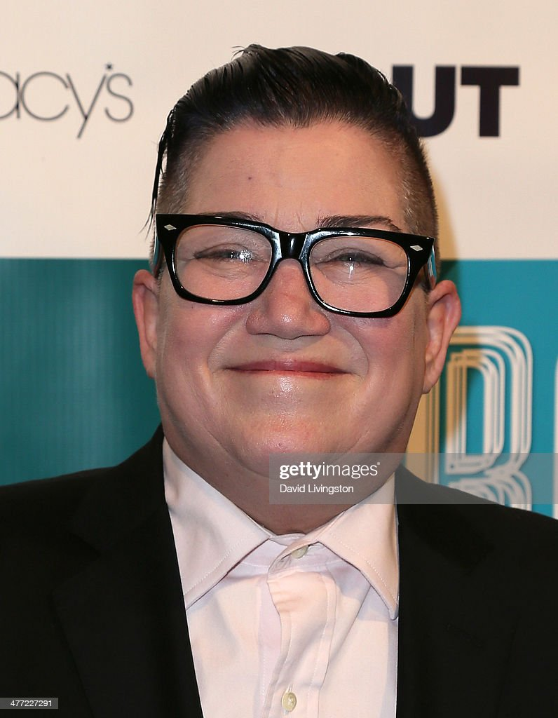 Actress Lea DeLaria attends Out Magazine's Rock OUT event to kick off Los Angeles Fashion Week at Siren Studios on March 7, 2014 in Hollywood, California.
