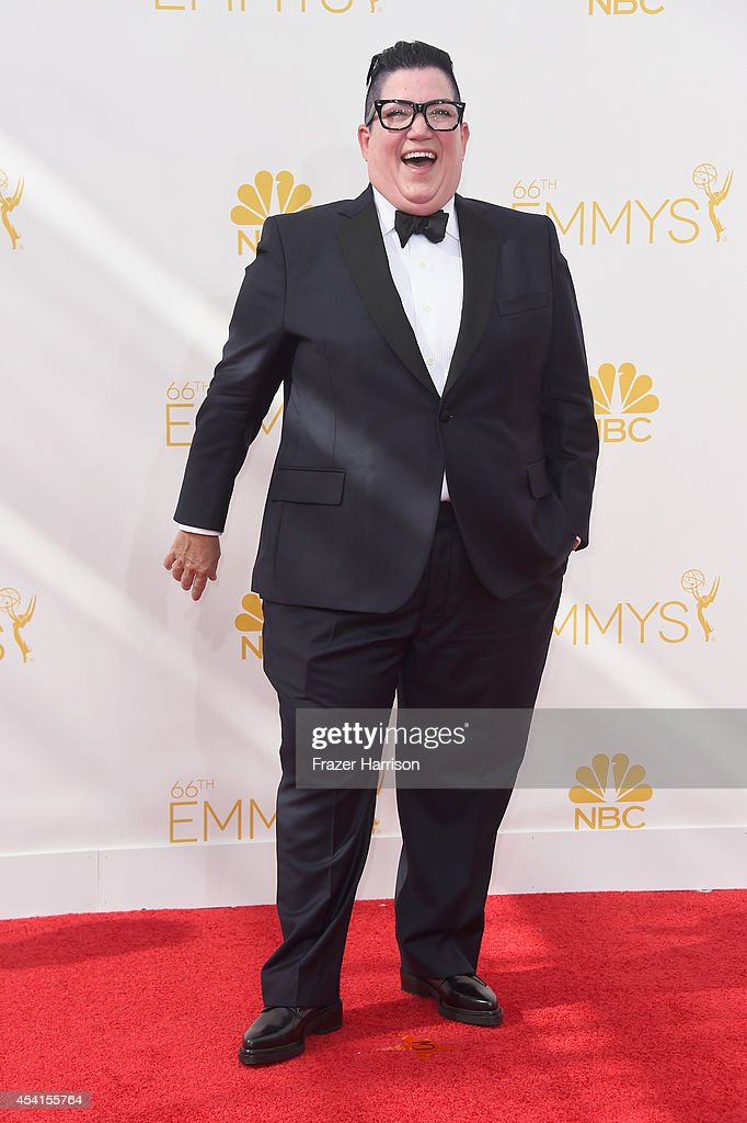 Actress Lea DeLaria attends the 66th Annual Primetime Emmy Awards held at Nokia Theatre LA Live on August 25 2014 in Los Angeles California