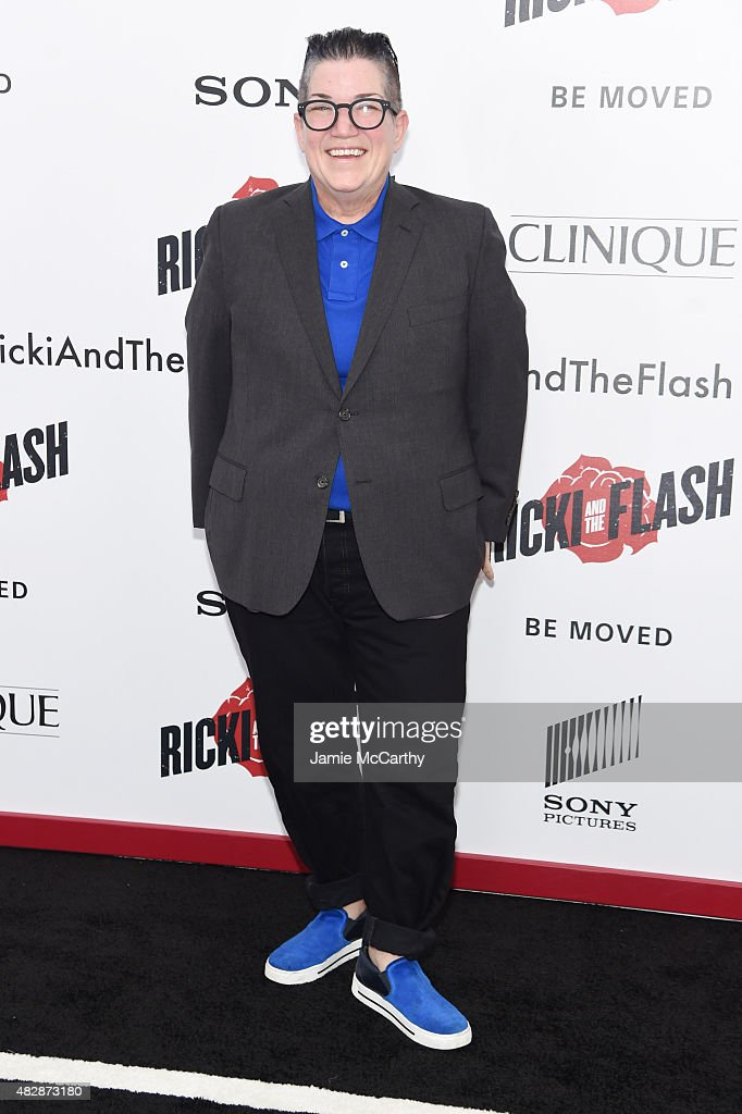 Actress Lea DeLaria attends the New York premier of 'Ricki And The Flash' at AMC Lincoln Square Theater on August 3, 2015 in New York City.