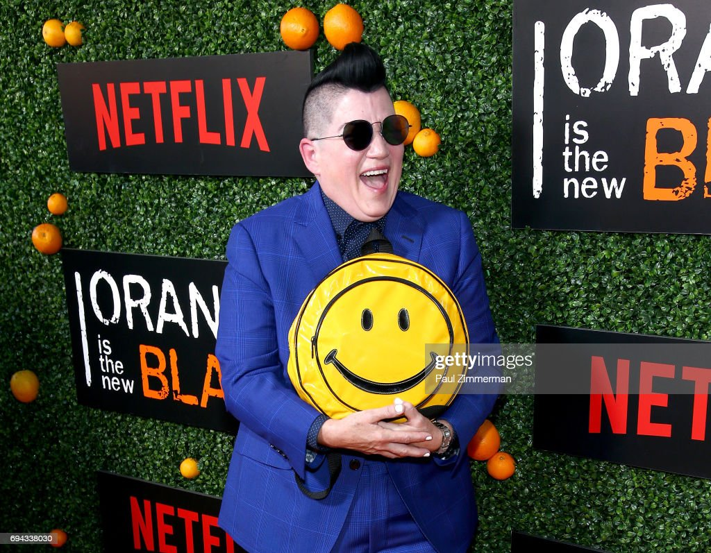 Actress Lea DeLaria attends the 'Orange Is The New Black' Season 5 Celebration at Catch on June 9, 2017 in New York City.