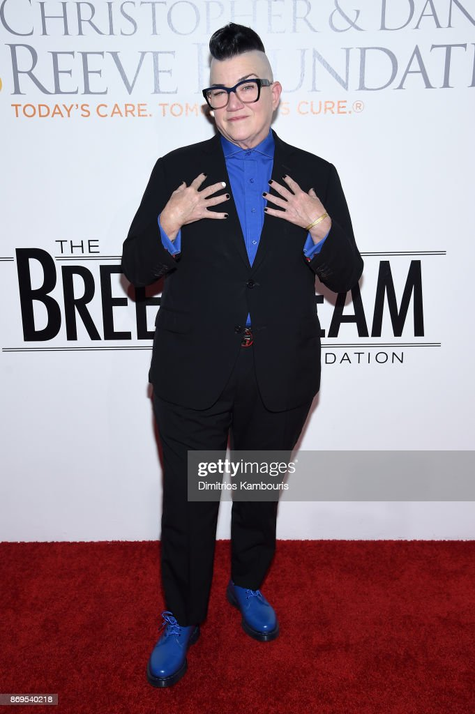 Actress Lea DeLaria attends the Samsung annual charity gala 2017 at Skylight Clarkson Sq on November 2, 2017 in New York City.