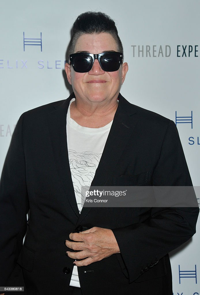 Actress <a gi-track='captionPersonalityLinkClicked' href=/galleries/search?phrase=Lea+DeLaria&family=editorial&specificpeople=2534492 ng-click='$event.stopPropagation()'>Lea DeLaria</a> poses during the 'Let's Get Under The Covers: An Evening Of Cocktails And Change' event at Hotel Americano on June 27, 2016 in New York City.