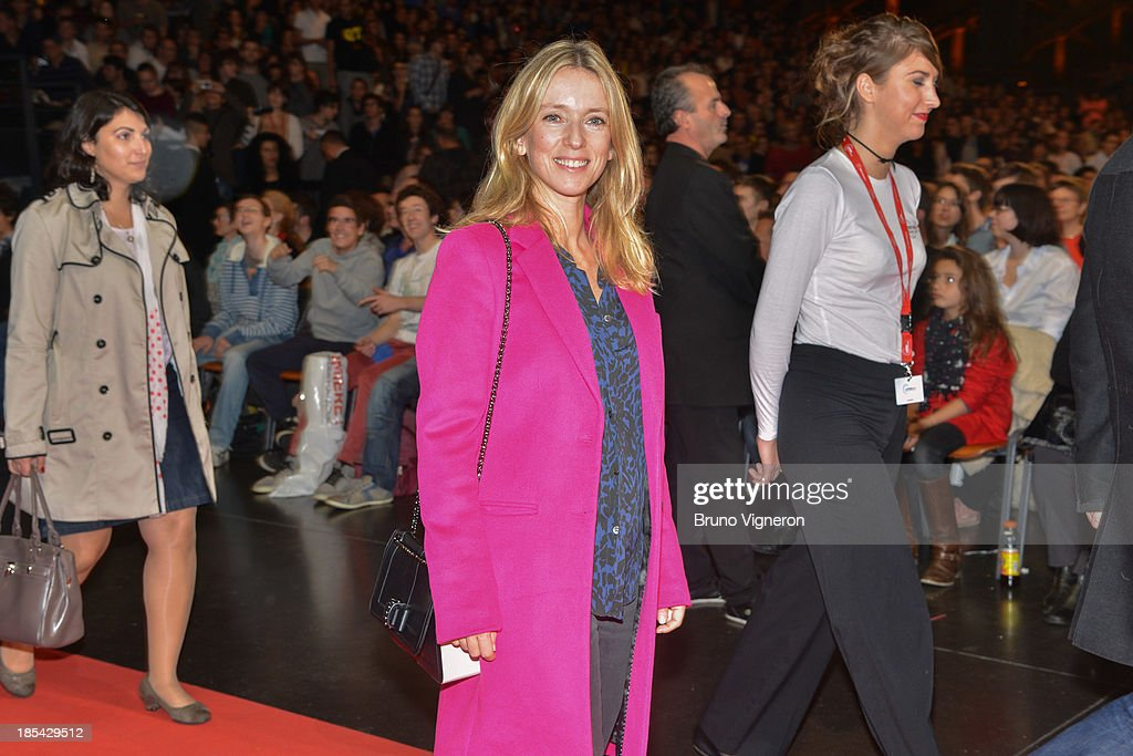 Actress <a gi-track='captionPersonalityLinkClicked' href=/galleries/search?phrase=Lea+Drucker&family=editorial&specificpeople=4132783 ng-click='$event.stopPropagation()'>Lea Drucker</a> attends the closing ceremony of 'Lumiere 2013, Grand Lyon Film Festival' on October 20, 2013 in Lyon, France.