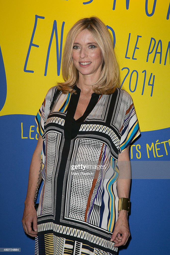 Actress Lea Drucker attends the 'Panorama des Nuits en or' gala dinner UNESCO on June 16 2014 in Paris France