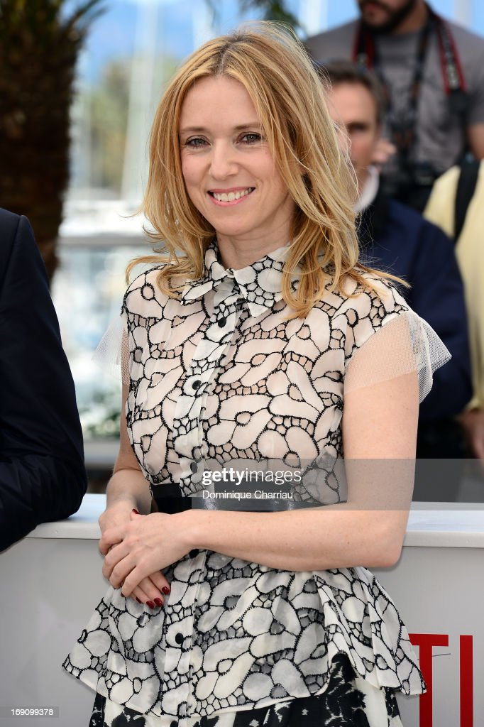 Actress Lea Drucker attends the photocall for 'Jeunes Talents Adami' during the 66th Annual Cannes Film Festival at the Palais des Festivals on May...