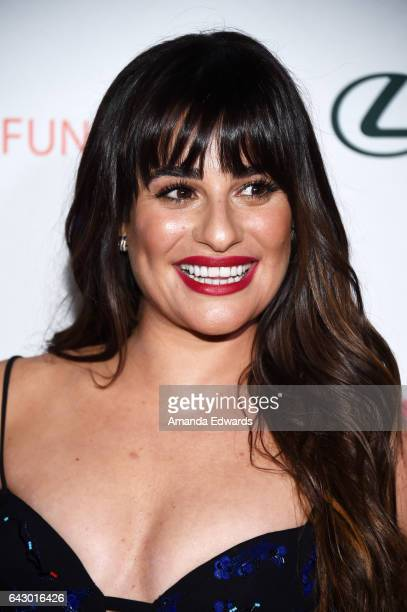 Actress Lea Michele arrives at the 3rd Annual Hollywood Beauty Awards at Avalon Hollywood on February 19 2017 in Los Angeles California