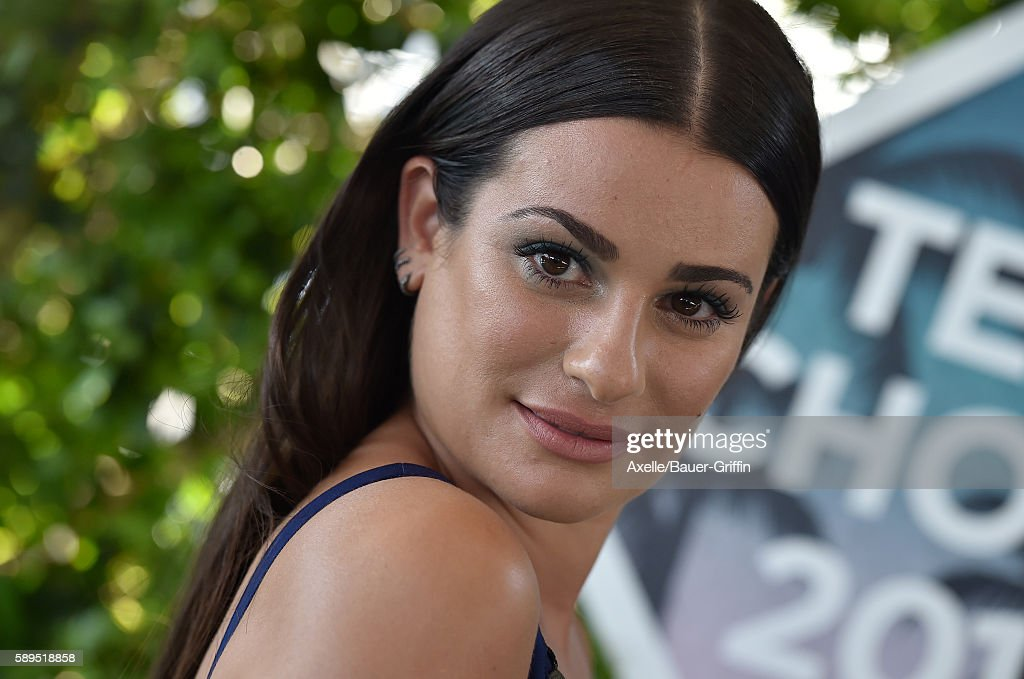 Actress Lea Michele arrives at the Teen Choice Awards 2016 at The Forum on July 31 2016 in Inglewood California