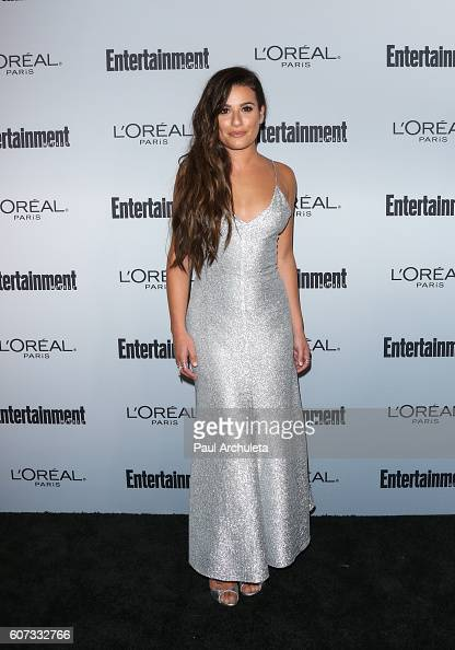 Actress Lea Michele attends Entertainment Weekly's 2016 PreEmmy party at Nightingale Plaza on September 16 2016 in Los Angeles California