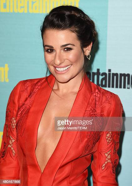 Actress Lea Michele attends Entertainment Weekly's ComicCon 2015 Party sponsored by HBO Honda Bud Light Lime and Bud Light Ritas at FLOAT at The Hard...