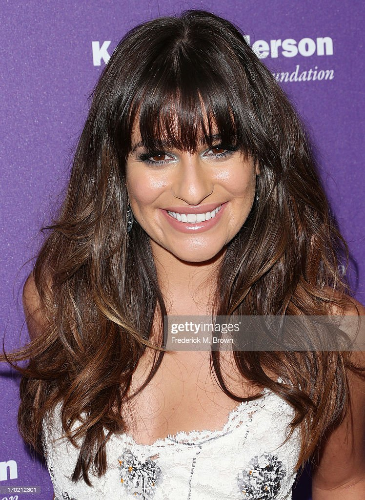 Actress Lea Michele attends the 12th Annual Chrysalis Butterfly Ball on June 8, 2013 in Los Angeles, California.