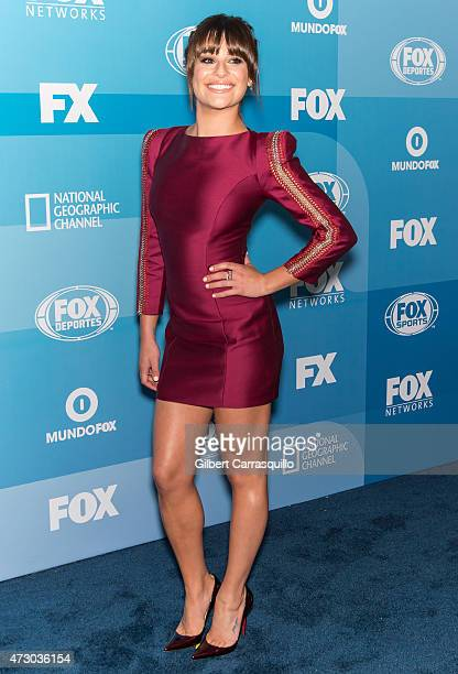 Actress Lea Michele attends the 2015 FOX Programming Presentation at Wollman Rink at Wollman Rink Central Park on May 11 2015 in New York City