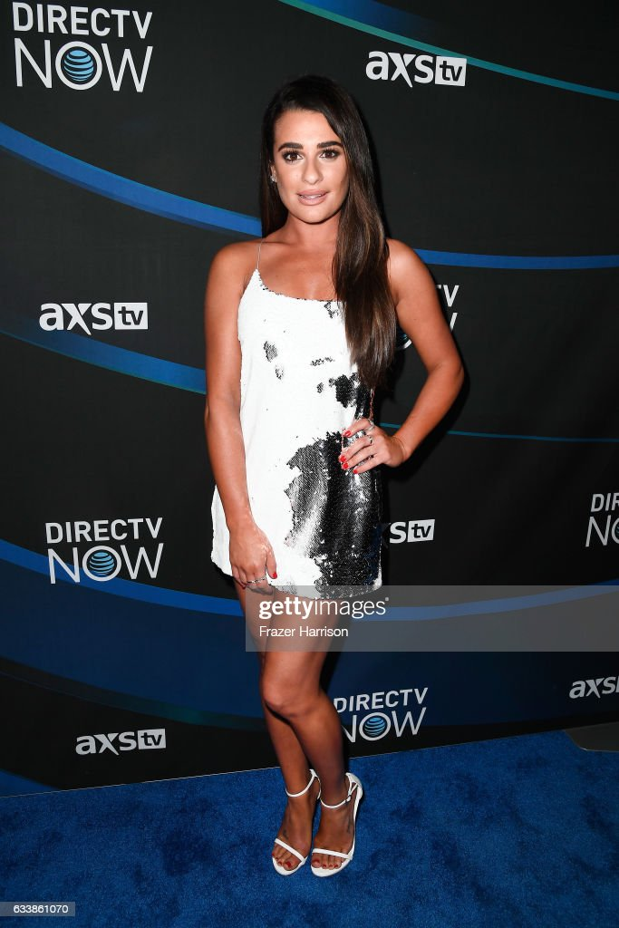 Actress Lea Michele attends the 2017 DIRECTV NOW Super Saturday Night Concert at Club Nomadic on February 4, 2017 in Houston, Texas.