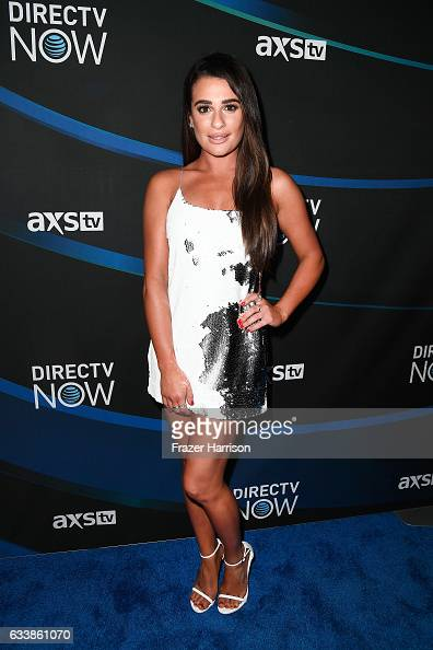 Actress Lea Michele attends the 2017 DIRECTV NOW Super Saturday Night Concert at Club Nomadic on February 4 2017 in Houston Texas