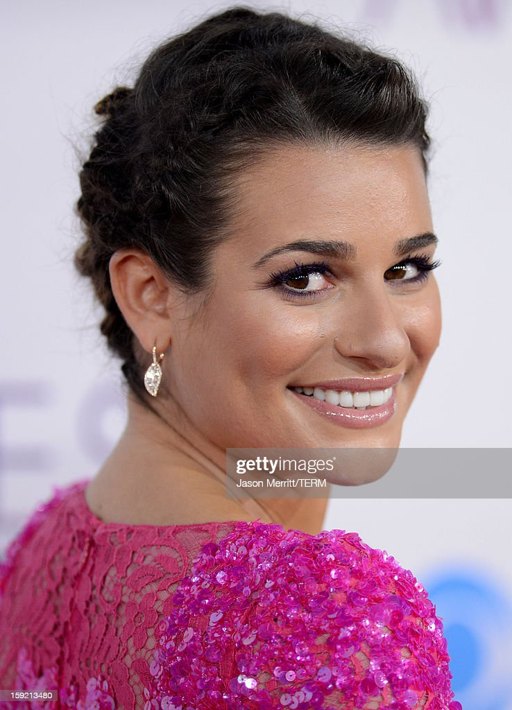 Actress Lea Michele attends the 39th Annual People's Choice Awards at Nokia Theatre L.A. Live on January 9, 2013 in Los Angeles, California.