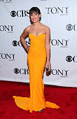 Actress Lea Michele attends the 64th Annual Tony Awards at Radio City Music Hall on June 13 2010 in New York City