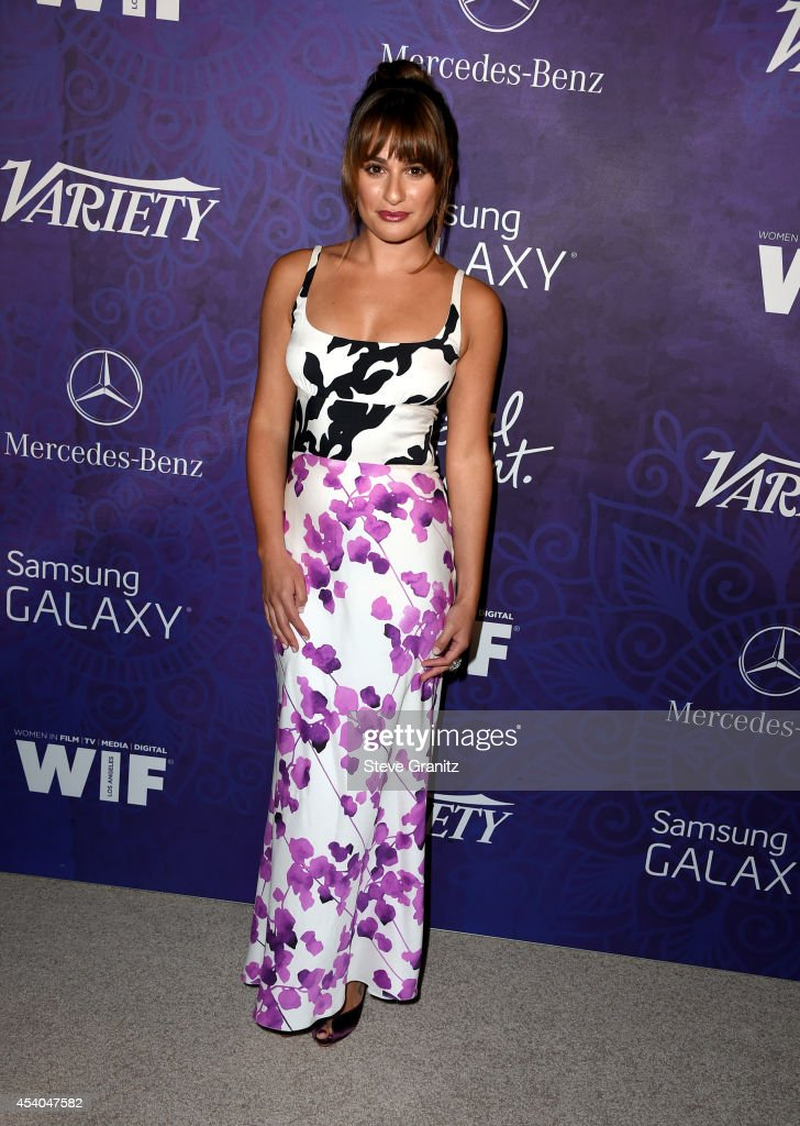 Actress Lea Michele attends Variety and Women in Film Annual Pre-Emmy Celebration at Gracias Madre on August 23, 2014 in West Hollywood, California.