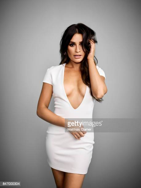 Actress Lea Michele from 'Scream Queens' is photographed for Entertainment Weekly Magazine on July 22 2016 at Comic Con in the Hard Rock Hotel in San...