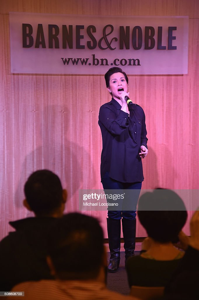 Actress Lea Salonga promotes the original Broadway cast recording of 'Allegiance' at Barnes & Noble, 86th & Lexington on February 5, 2016 in New York City.
