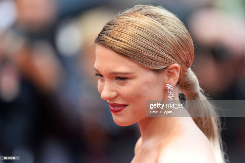 Actress Lea Seydoux attends 'Grand Central' Premiere during the 66th Annual Cannes Film Festival at Palais des Festivals on May 18, 2013 in Cannes, France.