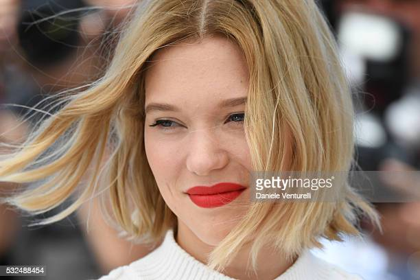 Actress Lea Seydoux attends 'It's Only The End Of The World ' during the Photocall The 69th Annual Cannes Film Festival on May 19 2016 in Cannes