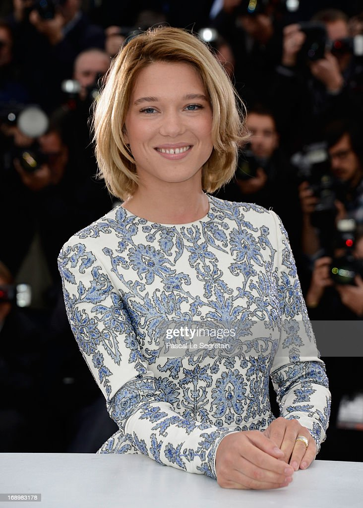Actress Lea Seydoux attends the 'Grand Central' Photocall during The 66th Annual Cannes Film Festival at Palais des Festivals on May 18, 2013 in Cannes, France.