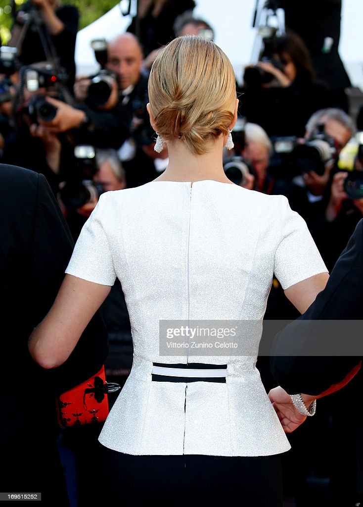 Actress Lea Seydoux attends the 'Zulu' Premiere and Closing Ceremony during the 66th Annual Cannes Film Festival at the Palais des Festivals on May 26, 2013 in Cannes, France.