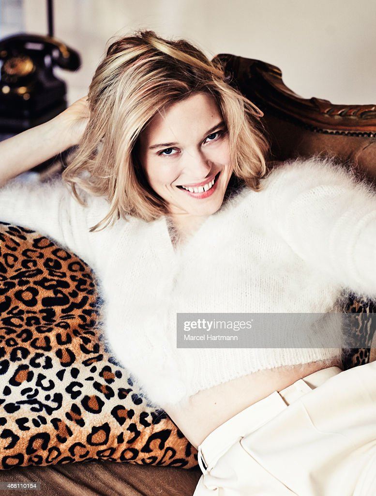 Actress <a gi-track='captionPersonalityLinkClicked' href=/galleries/search?phrase=Lea+Seydoux&family=editorial&specificpeople=4398974 ng-click='$event.stopPropagation()'>Lea Seydoux</a> is photographed for Paris Match on March 18, 2015 in Paris, France.