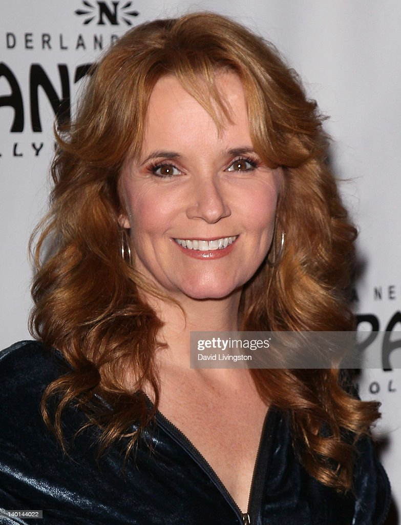 Actress Lea Thompson attends the opening night of 'Monty Python's Spamalot' at the Pantages Theatre on February 28, 2012 in Hollywood, California.