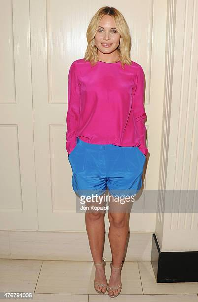 Actress Leah Pipes arrives at TheWrap's 2nd Annual Emmy Party at The London on June 11 2015 in West Hollywood California