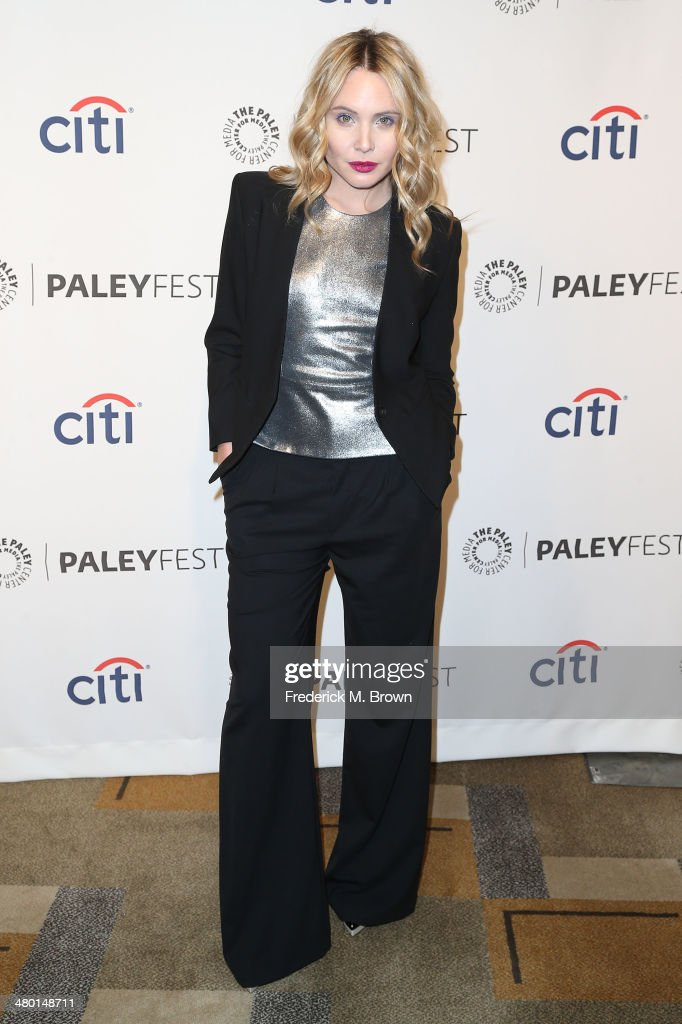 Actress <a gi-track='captionPersonalityLinkClicked' href=/galleries/search?phrase=Leah+Pipes&family=editorial&specificpeople=2969143 ng-click='$event.stopPropagation()'>Leah Pipes</a> attends The Paley Center for Media's PaleyFest 2014 Honoring 'The Vampire Diaries' and 'The Originals' at the Dolby Theatre on March 22, 2014 in Hollywood, California.