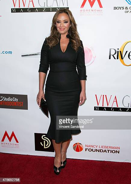 Actress Leah Remini attends the launch of VIVA GLAM Magazine's Celebrity Issue hosted by Leah Remini at Riviera 31 on June 2 2015 in Beverly Hills...