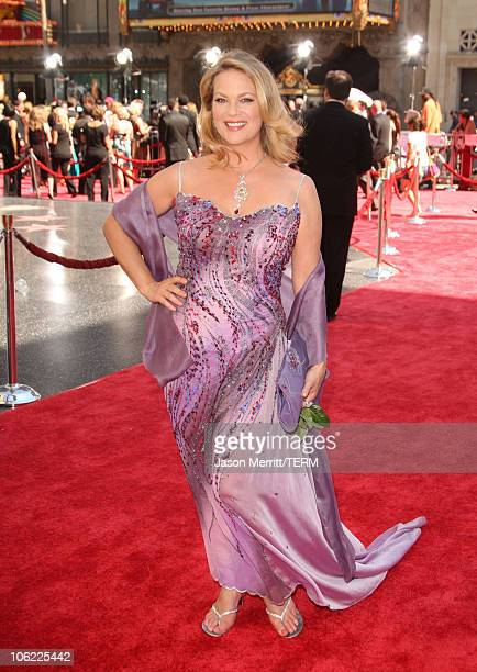 Actress Leann Hunley arrives to The 35th Annual Daytime Emmy Awards at the Kodak Theatre on June 20 2008 in Los Angeles California