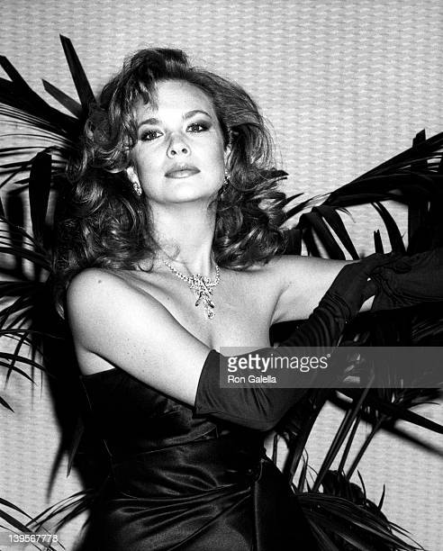 Actress Leann Hunley attends Eighth Annual Celebrity Fashion Show Benefit for Autism Research on March 21 1987 at the Registry Hotel in Los Angeles...