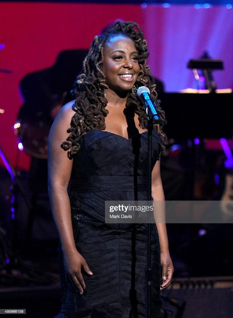 Actress Ledisi performs onstage during the Screen Actors Guild Foundation 30th Anniversary Celebration at Wallis Annenberg Center for the Performing...