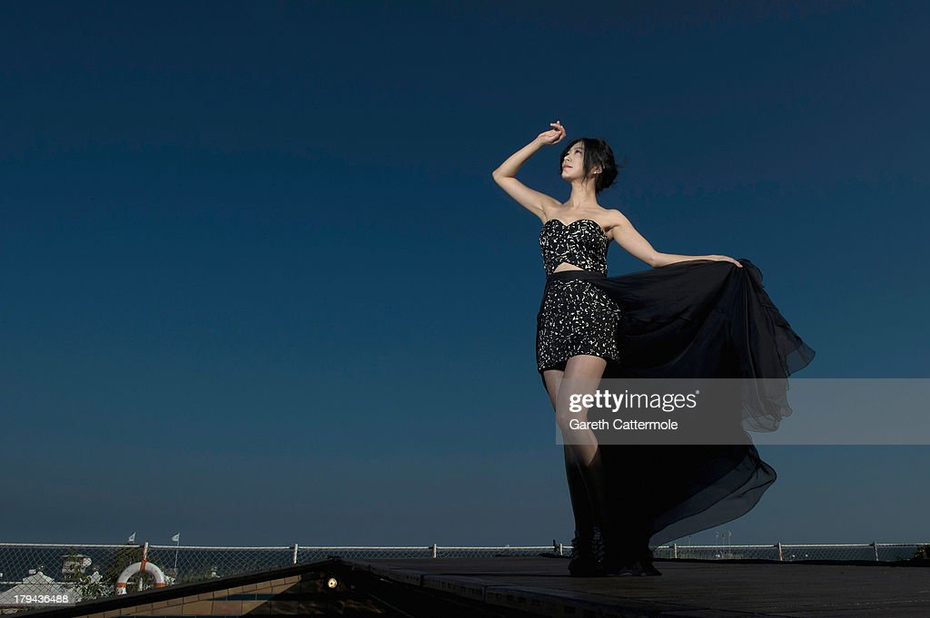 Actress Lee Eun-Woo during a portrait session at the 70th Venice International Film Festival on September 3, 2013 in Venice, Italy.