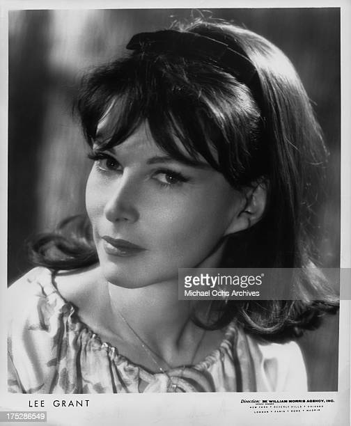 Actress Lee Grant poses for a publicity still distributed by The William Morris Agency circa 1965