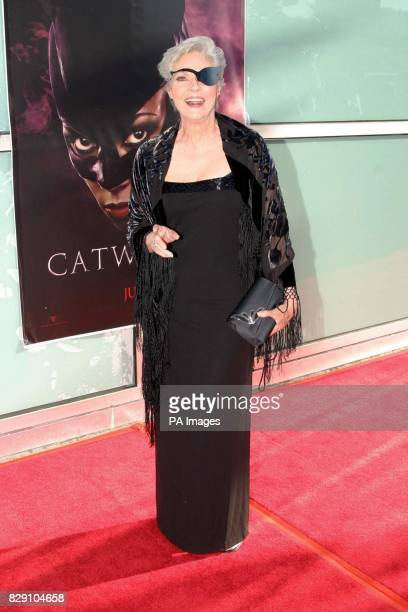 Actress Lee Meriwether who played Catwoman in the 1960's TV series Batman arrives for the premiere of the film Catwoman held at the Cinerama Dome...