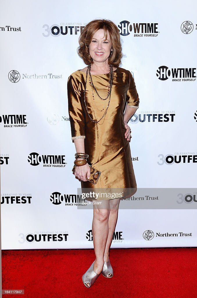 Actress Lee Purcell arrives at the 2012 Outfest Legacy Awards at Orpheum Theatre on October 13, 2012 in Los Angeles, California.