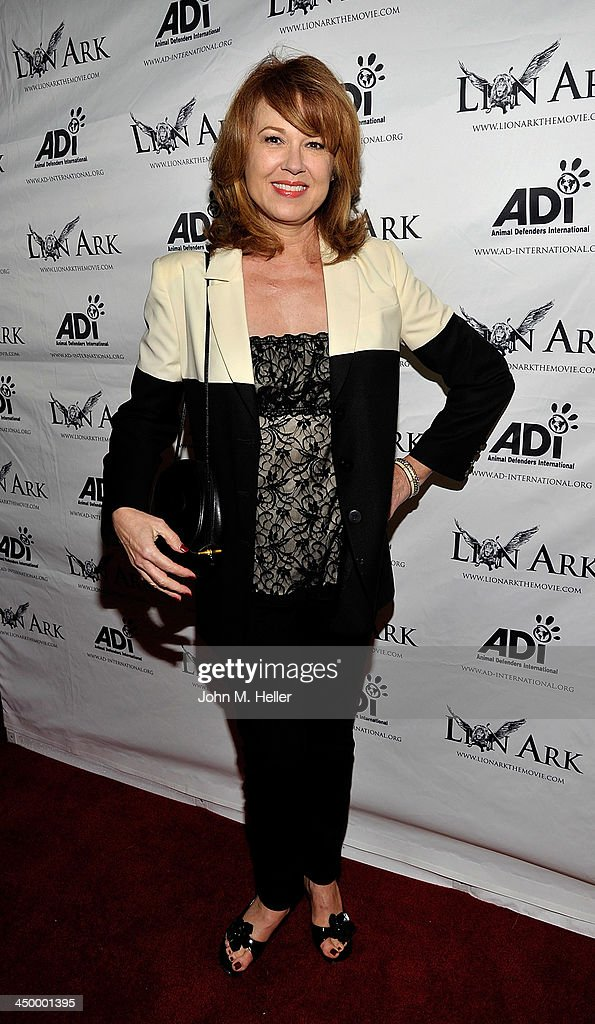 Actress Lee Purcell attends the premiere of 'Lion Ark' at the Charles Aidikoff Screening Room on November 15, 2013 in Beverly Hills, California.