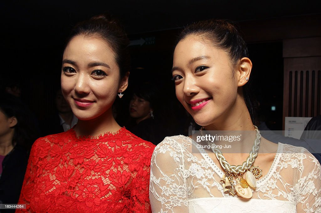 Actress Lee So-Yeon and Clara attend the United Asian Film Night at the Chosun hotel during the 18th Busan International Film Festival (BIFF) on October 6, 2013 in Busan, South Korea. The biggest film festival in Asia showcases 299 films from 70 countries and runs from October 3-12.