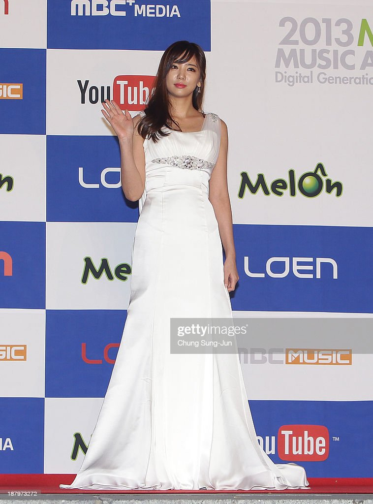 Actress Lee Tae-Im arrive for the MelOn Music Awards at Olympic Gymnasium on November 14, 2013 in Seoul, South Korea.