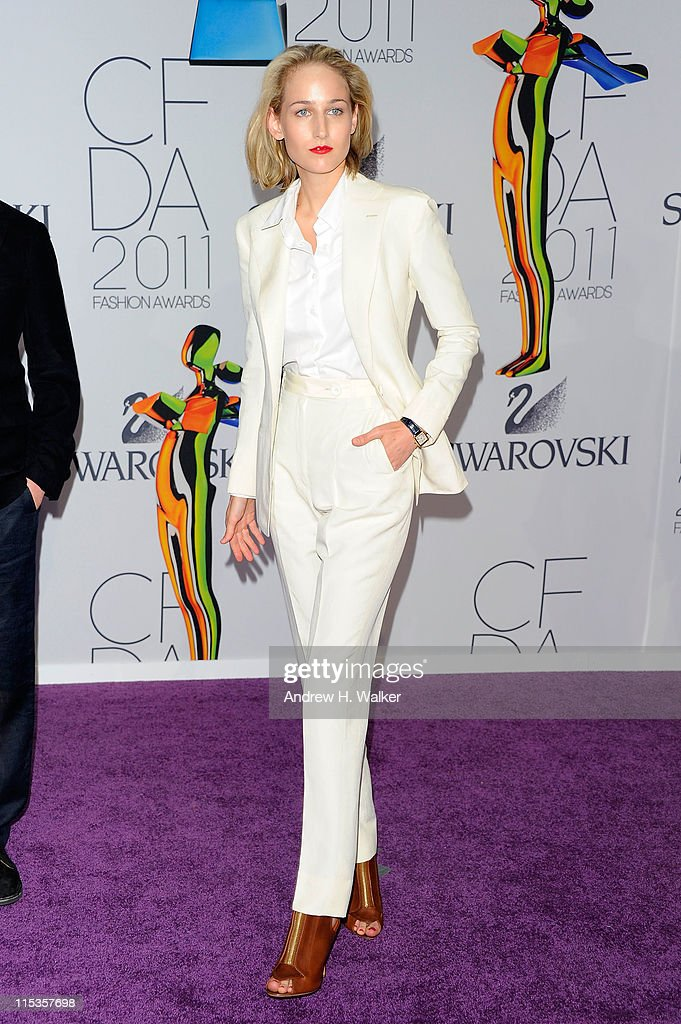 Actress Leelee Sobieski attends the 2011 CFDA Fashion Awards at Alice Tully Hall Lincoln Center on June 6 2011 in New York City