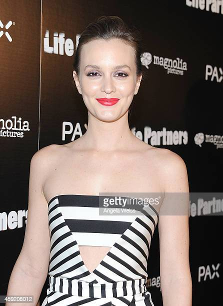 Actress Leighton Meester arrives at the premiere of Magnolia Pictures' 'Life Partners' at ArcLight Hollywood on November 18 2014 in Hollywood...