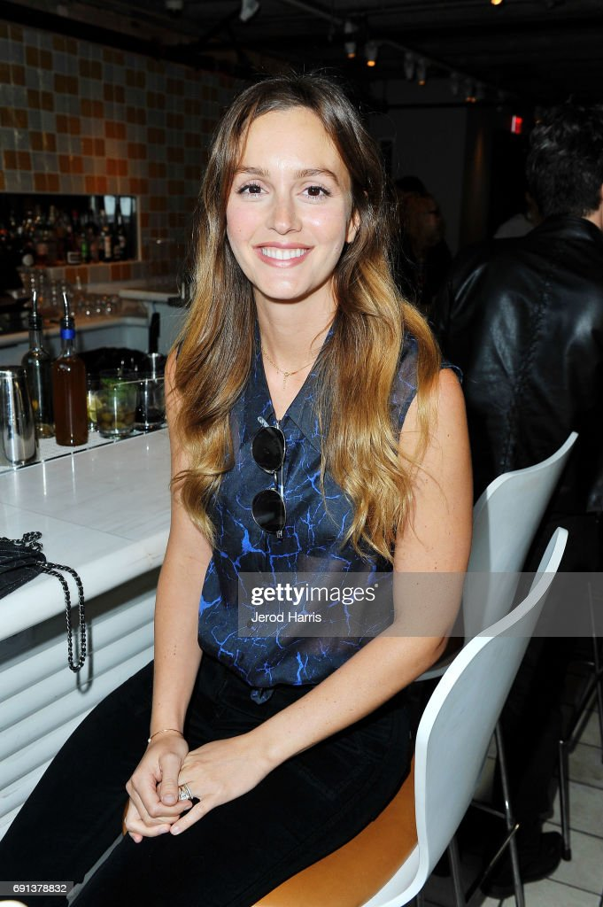 Actress Leighton Meester attends an evening with Senator Gillibrand at NeueHouse Hollywood on June 1, 2017 in Los Angeles, California.