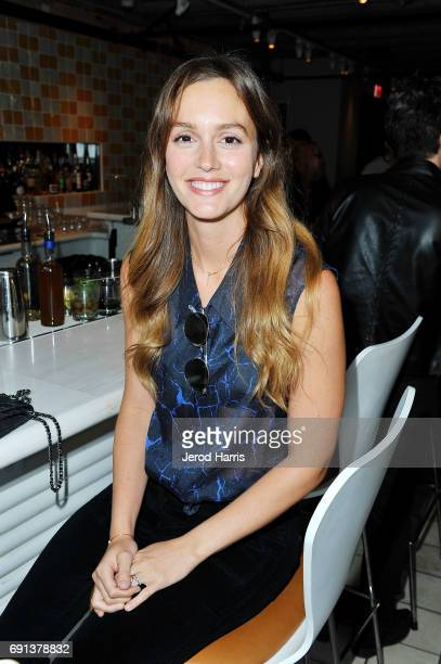 Actress Leighton Meester attends an evening with Senator Gillibrand at NeueHouse Hollywood on June 1 2017 in Los Angeles California